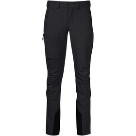 Bergans Breheimen Softshell Broek Dames, black/solid charcoal